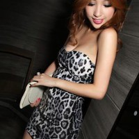 Sexy Leopard Slim Dress FQ188W