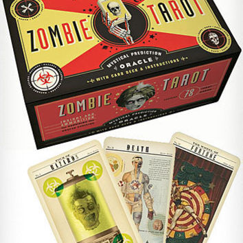 Supernatural Zombie Tarot Cards Deck
