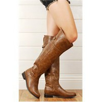 Rider82 OTK Riding Boots TAN
