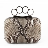 Clutch - Knuckle Duster - Grey by Bali Tomali