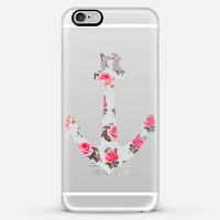Floral Anchor iPhone 6 Plus case by Allyson Johnson | Casetify