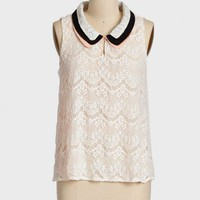 elegant charms lace top at ShopRuche.com