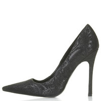 GALLOP Brocade Court Shoes