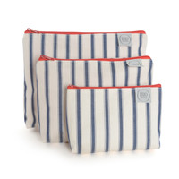 Heal's 1810 Small Wash Bag Henry Stripe