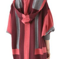 Haute Hippie Hooded Vertical Stripe Cardigan | SHOPBOP
