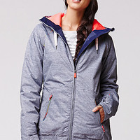 Roxy Valley Hoodie Jacket - Womens Sweaters - Gray