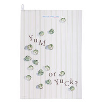 Yum Or Yuck Sprouts Tea Towel