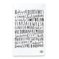 English Tea Cake Tea Towel
