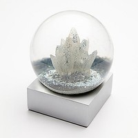 Free People Womens FP Crystal Snow Globe - Crystal One