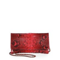 enabled: truelabel: Beirn-Dyed Calf Hair Convertible Wallet Clutch