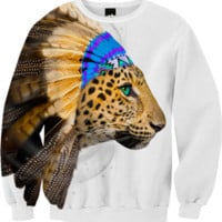 Fight For What You Love • Chief of Dreams: Amur Leopard v.2 Unisex Sweatshirt created by soaringanchordesigns | Print All Over Me
