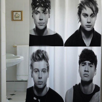 5 second of summer shower curtain that will make your bathroom adorable