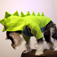 Dinosaur Fleece Dog Costume