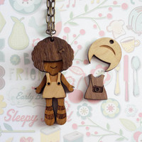 Doll Necklace (Dress-Up Polly)