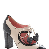 Heart Work and Dedication Heel | Mod Retro Vintage Heels | ModCloth.com