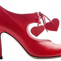 Raquel red  | Shoe Designer Minna Parikka - Official Online Boutique