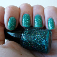 Tranquility jelly glitter nail polish - mini bottle