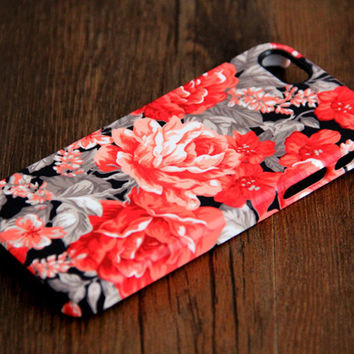 Stylish Floral Pattern iPhone 6 Plus/6/5S/5C/5/4S/4 Protective Case #145