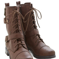 ModCloth Military I'd Rather Ramble Boot