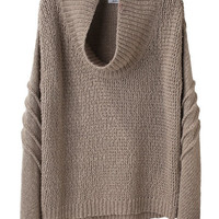Helmut Lang / Cowl Neck Pullover | La Garonne