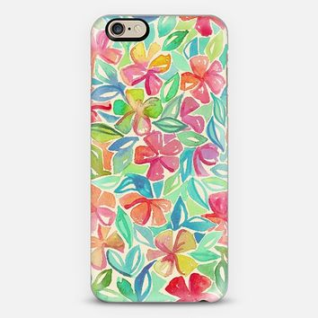 Tropical Floral Watercolor Painting iPhone 6 case by Micklyn Le Feuvre   Casetify