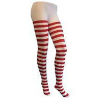 Red &amp; White Stripe tights - Union Jack Shop - Union Jack Clothing Union Jack Flag