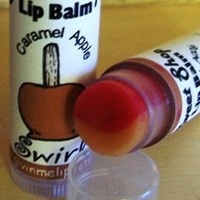 Lip Balm CANDY CARAMEL APPLE Flavored Swilred Lip Balm - Vegan