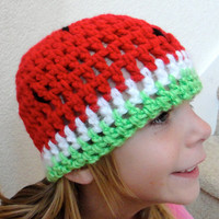 Watermelon Hat Child Toddler Teen
