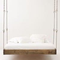 Barnwood Hanging Bed-Anthropologie.com