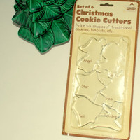 Vintage Christmas Cookie Cutters by Hoan 1982