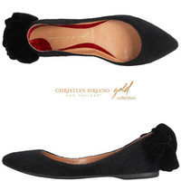 Womens - Christian Siriano for Payless - Women's Arabella Pointed Toe Bow Flat - Payless Shoes