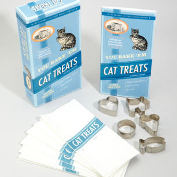 You Bake 'Em Cat Treats | Pet Treat Baking Kit | fredflare.com