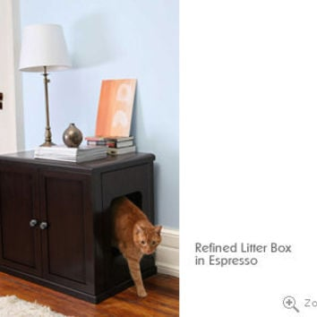 Cat Litter Box Furniture from The Refined Feline
