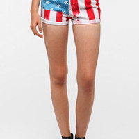 Motel Rock The Vote Jordie Denim Short