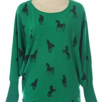 Ride A Horse Sweater