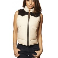 LADIES DOWN VEST - Women - Shop | Moose Knuckles