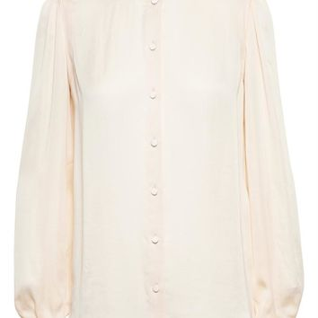 GIVENCHY   Silk Shirt with Back Band   Browns fashion & designer clothes & clothing