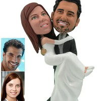 Personalized Wedding Cake Topper - .. on Luulla