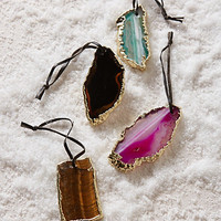 Agate Slice Ornament by Anthropologie