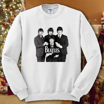 The Beatles Shirt Tshirt Sweatshirt For Women,Men # Unisex Sizing # Color Black and White