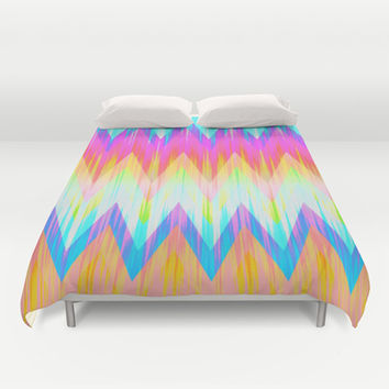 Mix #422 Duvet Cover by Ornaart