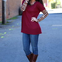 Fall With Me {Maroon + Cheetah}