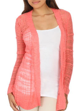 Slub Knit Cardigan | Shop SALE at Arden B