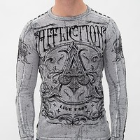 Affliction Caustic Reversible Thermal Shirt