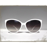 White Cat Eye Sunglasses  - Twin Peaks Laura Palmer early 90s