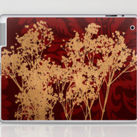 Baby&#x27;s Breath_Burgandy Laptop &amp; iPad Skin by Garima Dhawan | Society6