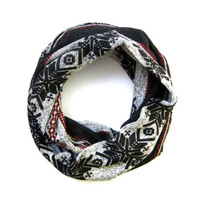 Holiday Toddler Scarf Cute Snowflake Scarf Childrens Scarf Childs Winter Scarf Black Grey Red Boy Scarf Girl Scarf Kids Ready To Ship