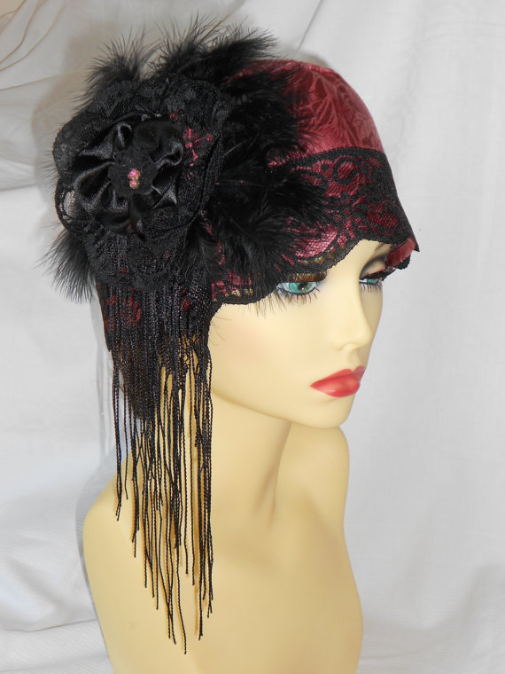 1920 S Inspired Vintage Turban Style From