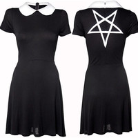 Wednesday Dress by Disturbia Clothing