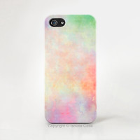 Pastel iPhone 6 case , sweet iPhone case , print pastel iPhone 6 cover , Hard plastic case , iphone 5 cover